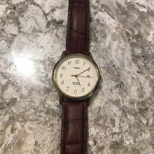 TIMEX Vintage Leather Watch